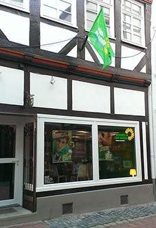 """Unser Büro in der Innenstadt: """"Grüner Laden"""""""