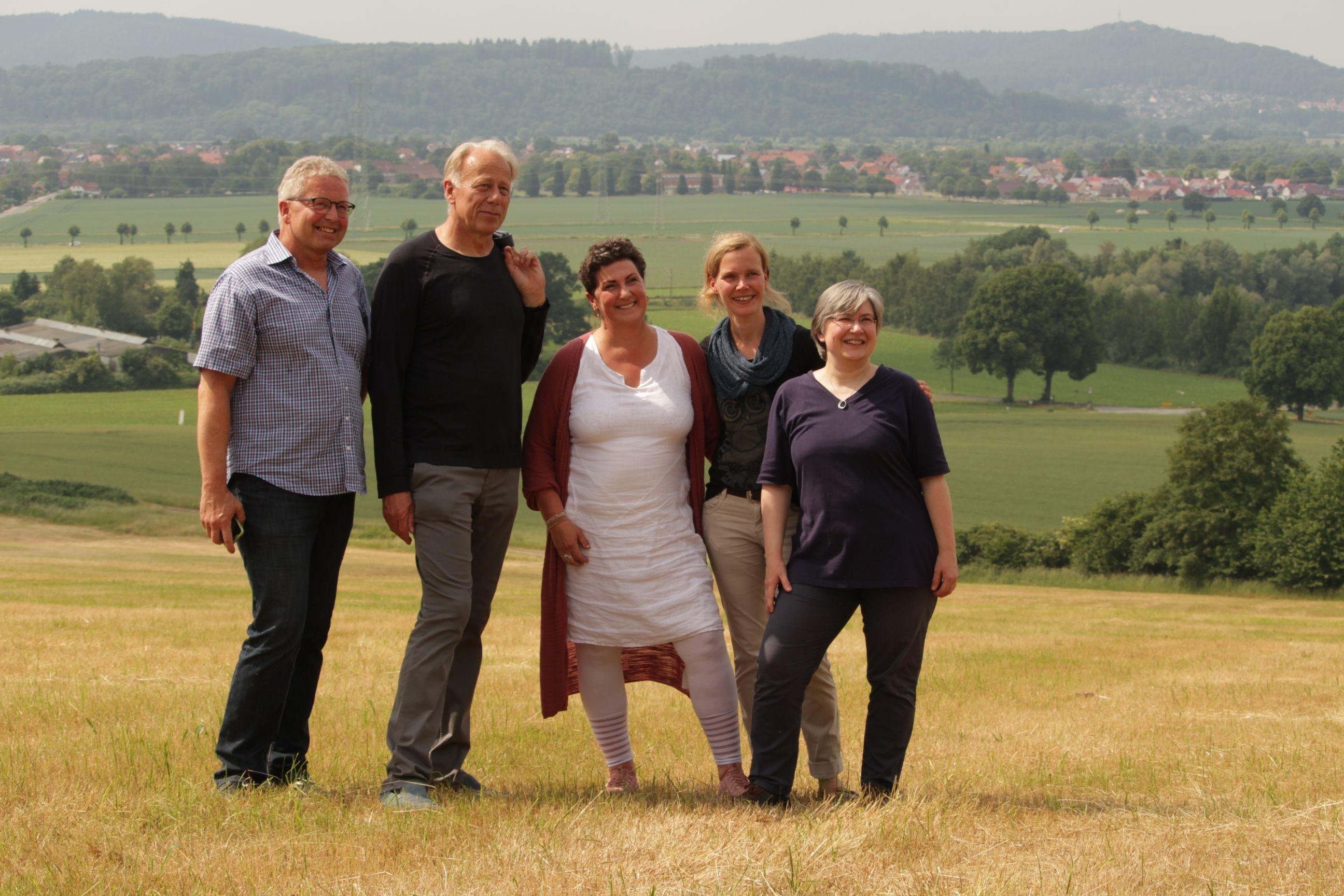 Besuch von Jürgen Trittin auf dem Bückeberg
