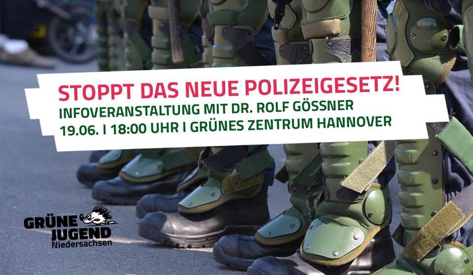 Stoppt das neue Polizeigesetz – #noNPOG