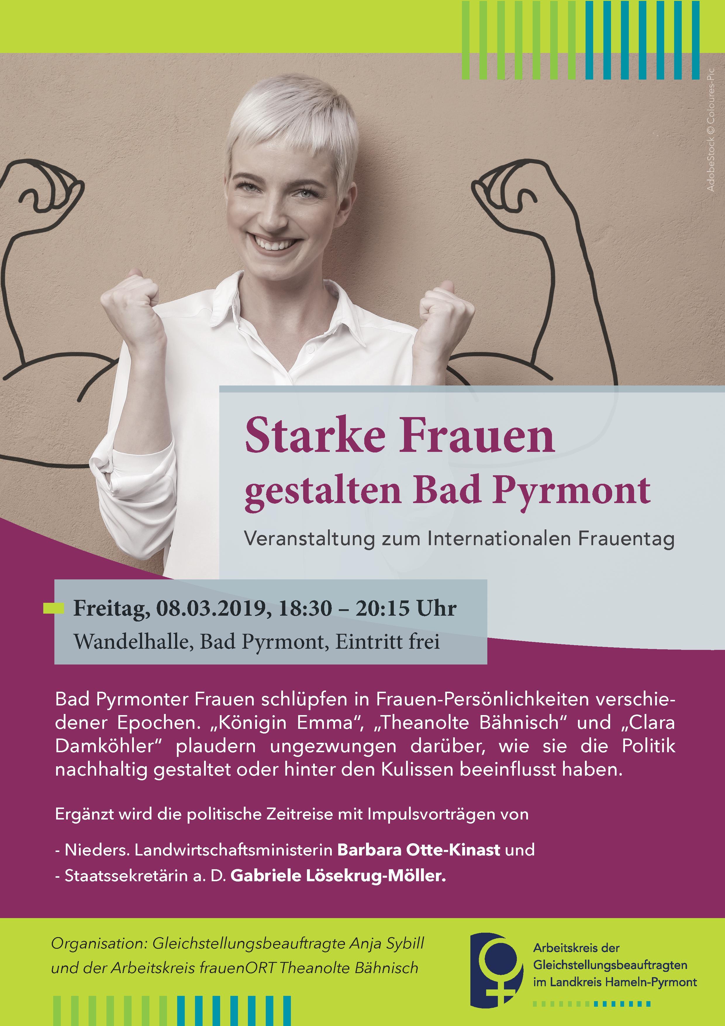 Starke Frauen gestalten Bad Pyrmont