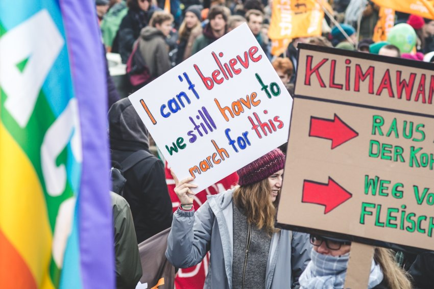 Aufruf zum Klimastreik – #AlleFürsKlima