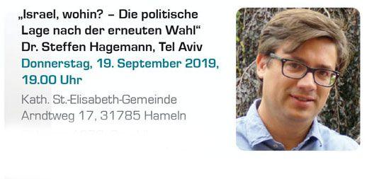 Israel, wohin? – Steffen Hagemann zur politischen Lage nach der erneuten Wahl