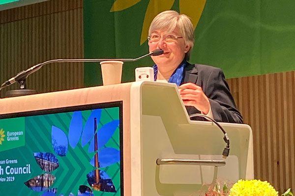 Ute Michel neue Schatzmeisterin der Europäischen Grünen Partei!
