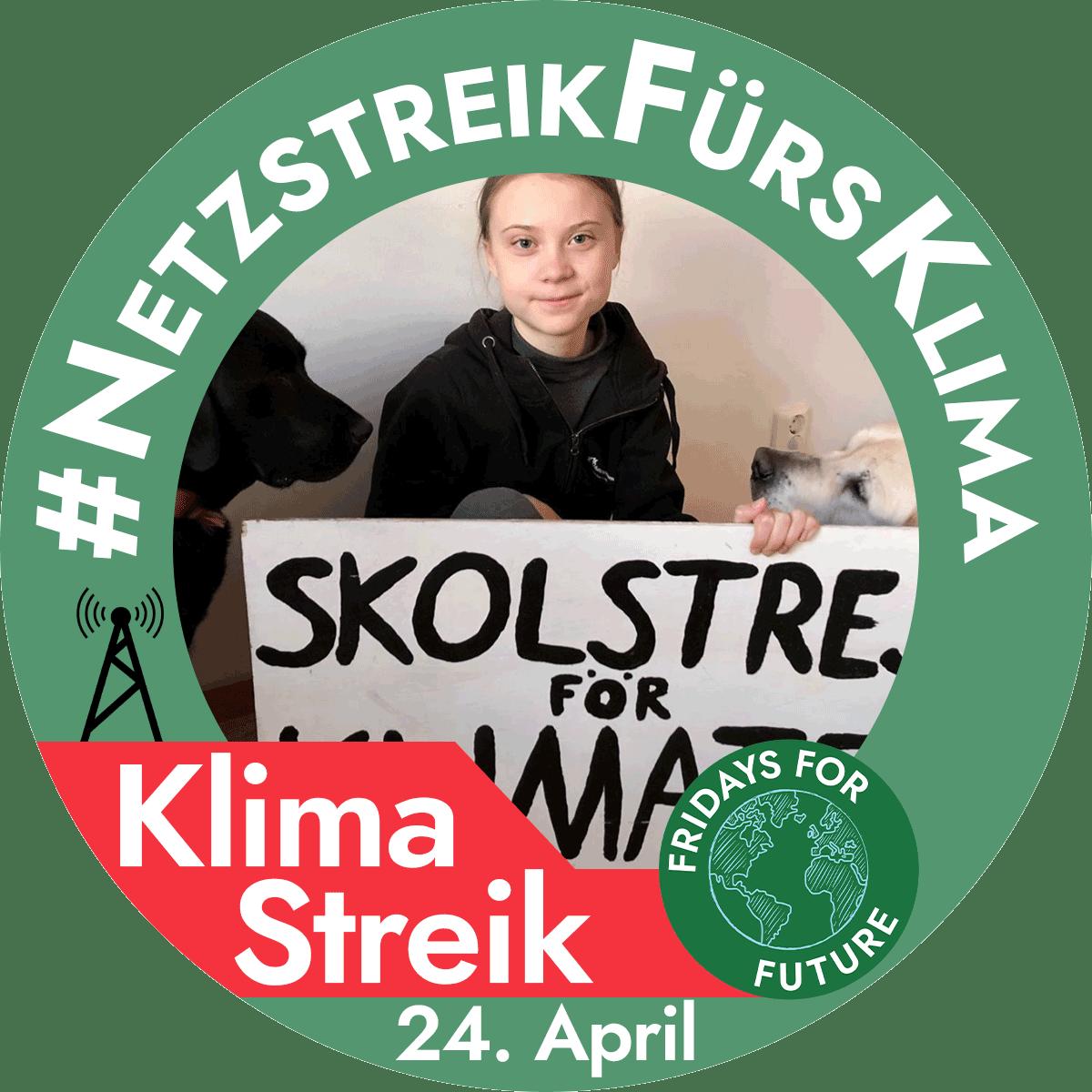 #NetzstreikFürsKlima – Jetzt online mitstreiken!