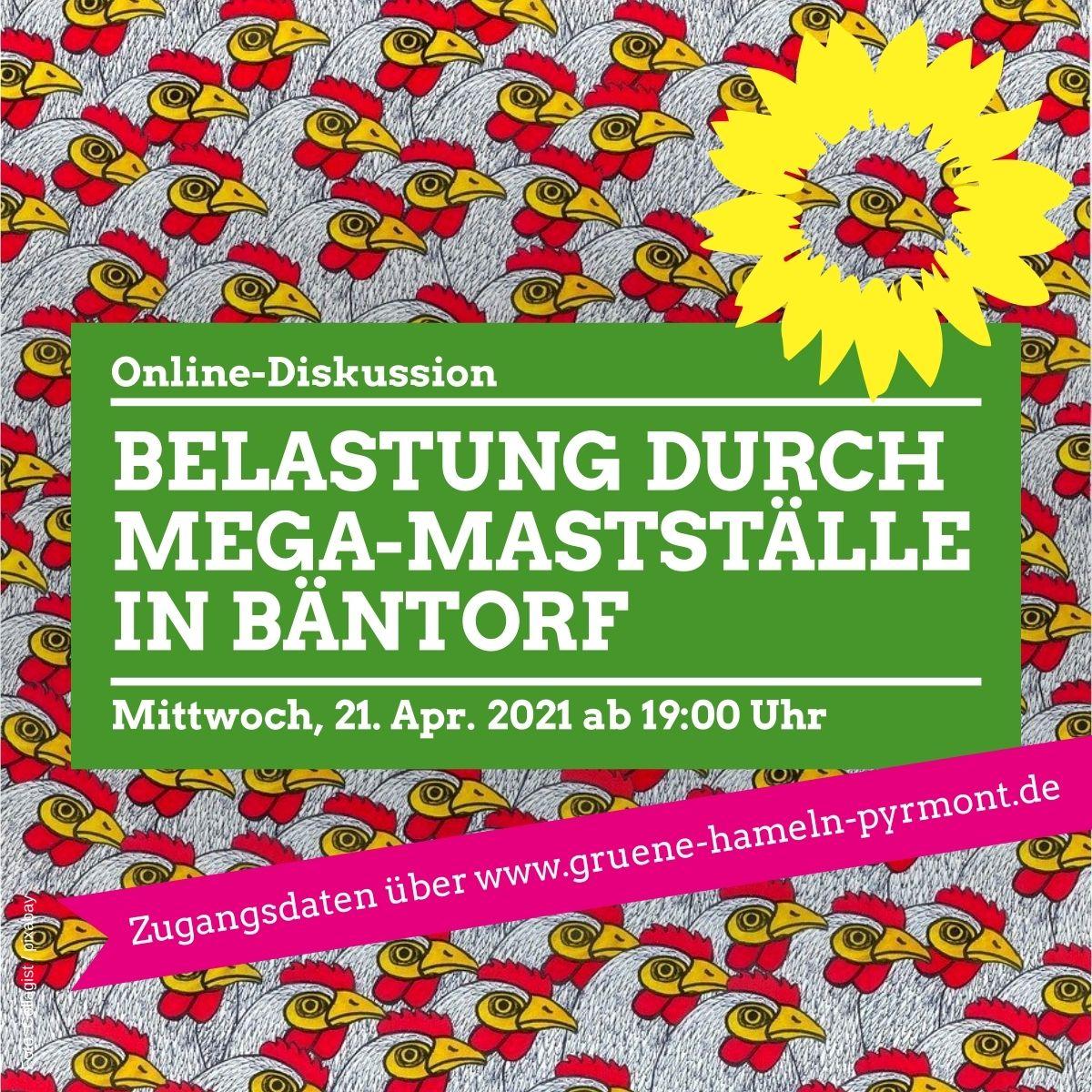 Weitere Großmastanlagen in Bäntorf? Mi., 21. Apr. 2021 ab 19 Uhr