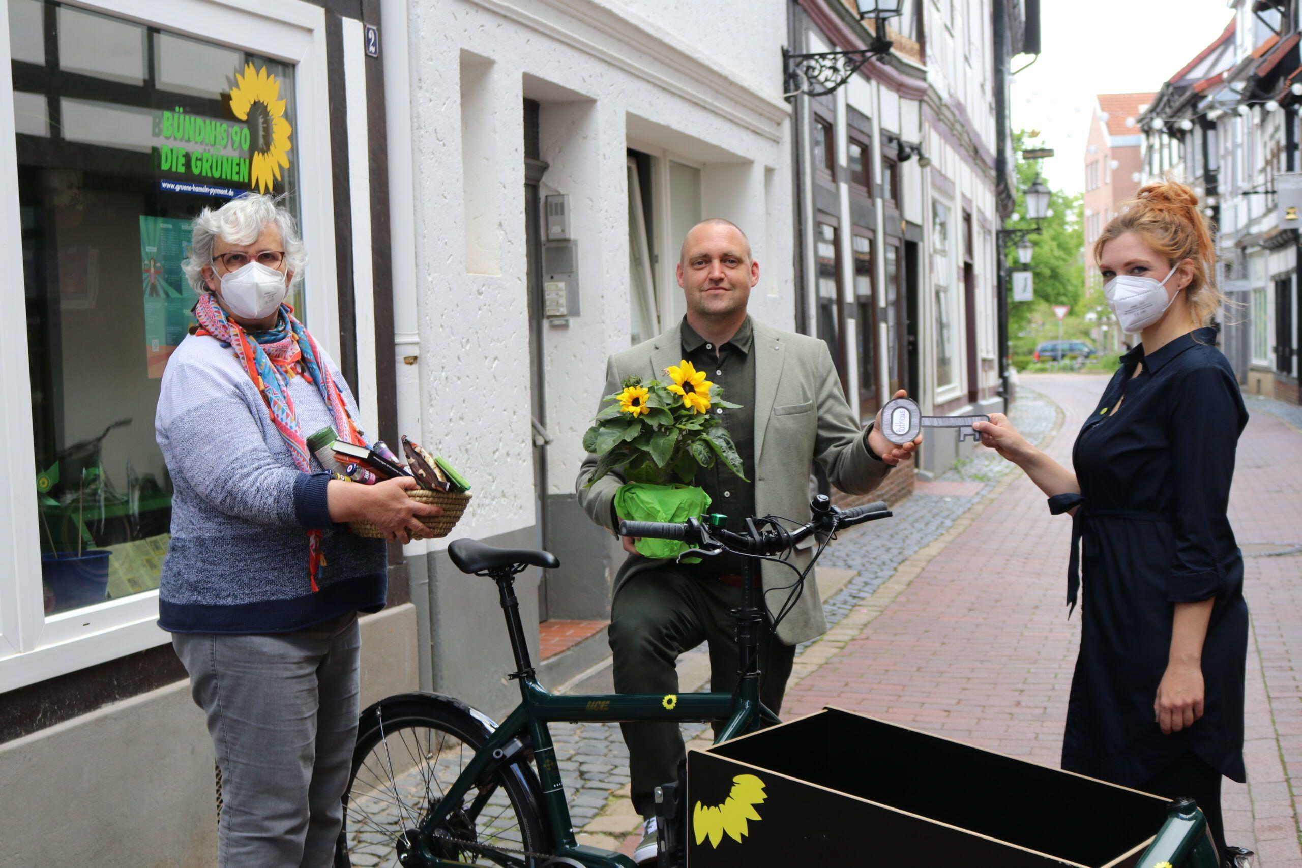 Grüne setzen auf Sven Kornfeld für das Amt des Oberbürgermeisters
