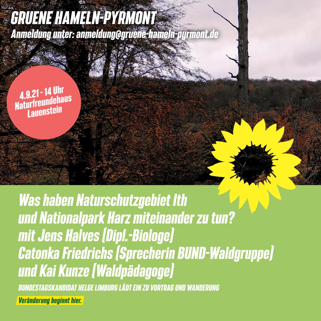 Was haben Naturschutzgebiet Ith und Nationalpark Harz miteinander zu tun?