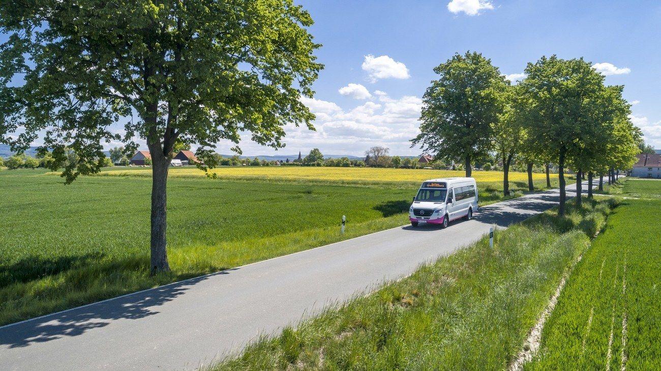 Rufbus: eine ÖPNV-Idee nimmt Fahrt auf