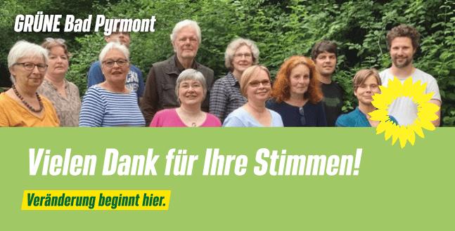 Bisher bestes Kommunalwahlergebnis für die Grünen in Bad Pyrmont
